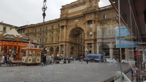 Piazza del Republico, viewed from Gilli