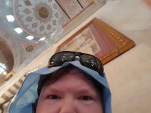 Me, in the Blue Mosque.