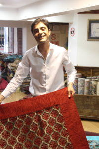 One of my new friends from the Kurdish rug store who educated me on the types of rugs.